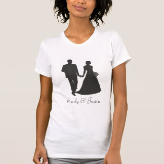 Personalized Groom and Bride designs T-Shirt