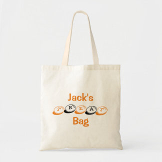 Personalized Halloween Treat Bag