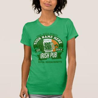Personalized Irish Pub | Comical St Patrick's Day T-Shirt