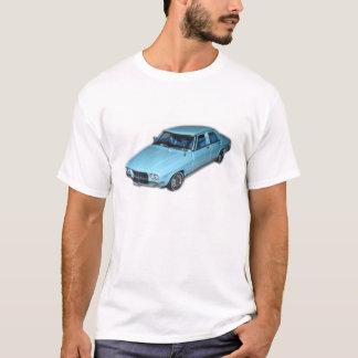 Personalized Large T-Shirt Holden HQ Premier Blue