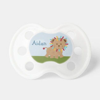 Personalized Lion Animal Parade Baby Pacifier