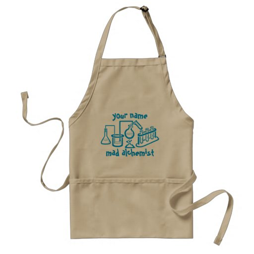 Personalized Mad Alchemist Apron