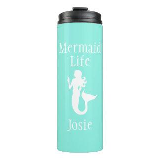 Personalized Mermaid Life Tumbler Thermal Tumbler