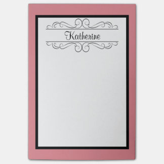 Personalized Monogram Post-It Notes