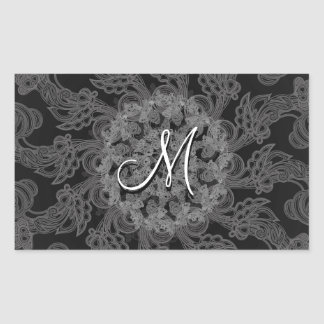 Personalized Monogrammed Stickers