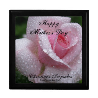 Personalized Mother's Day Keepsake Box Large/Rose