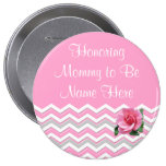 PERSONALIZED Mummy to Be Baby Shower Pin