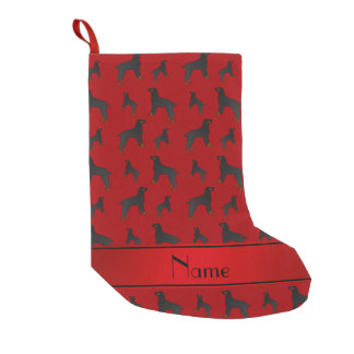 Personalized name red field spaniel dogs small christmas stocking
