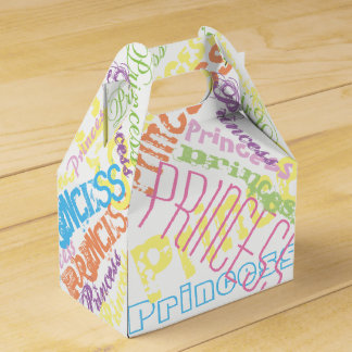 Personalized Name Sherbert Pastel Colors Favor Box