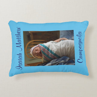 Personalized New Baby Pillow