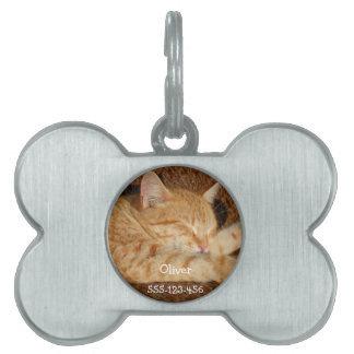 Personalized pet's photo pet tags
