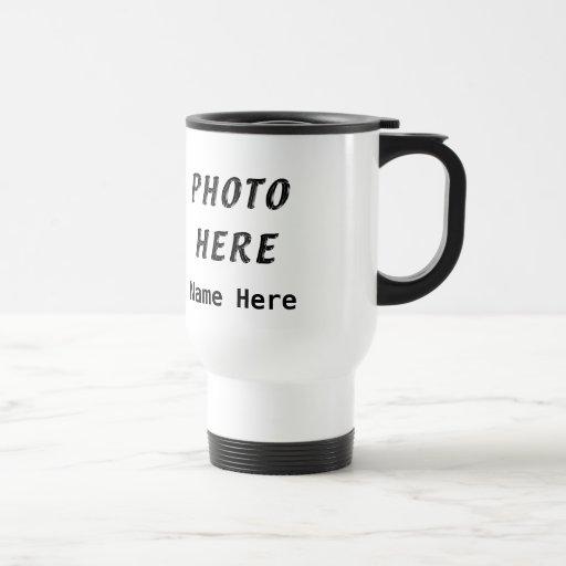 Personalized Photo Coffee Travel Mugs Coffee Mugs