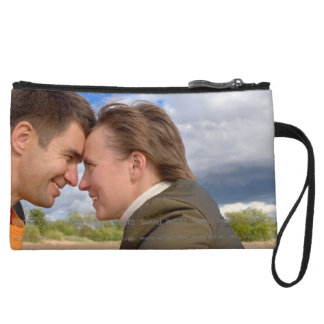Personalized Photo Mini Clutch Wristlets for Phone