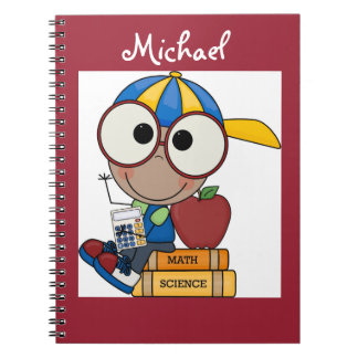 Personalized/Photo Notebook/School Boy Note Book