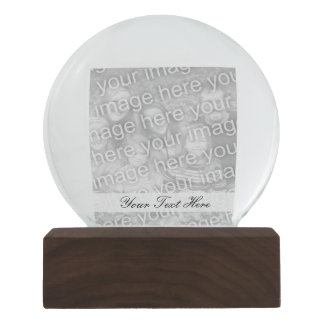 Personalized photo snowglobe   Add your image here