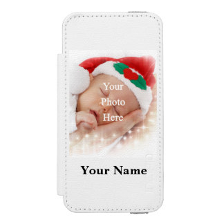 Personalized photo template incipio watson™ iPhone 5 wallet case