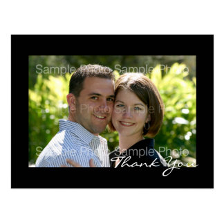 Personalized Photo Wedding Thank You PostCards
