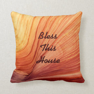 Personalized Pillow Bless This House Wedding Gift