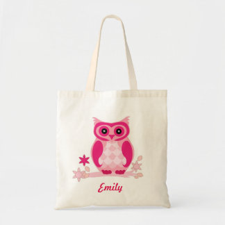 Personalized Pink Owl kids