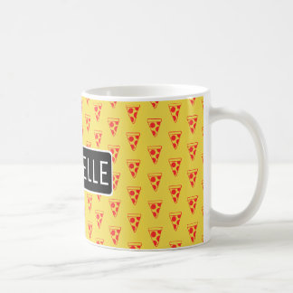 Personalized Pizza Slices Coffee Mug
