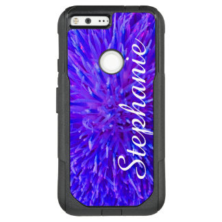 Personalized Purple Abstract Google Pixel XL