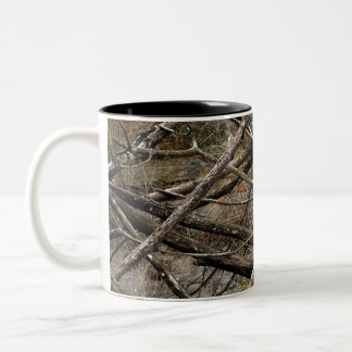 Personalized Real Camo / Camouflage (customizable) Two-Tone Mug