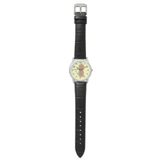 Personalized Red Goldendoodle Dog Design Watches