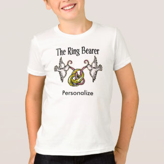 Personalized Ring Bearer Gifts T-Shirt