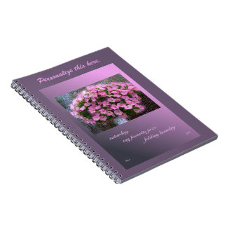 Personalized Saturday Haiga Humorous Poetry Spiral Notebook
