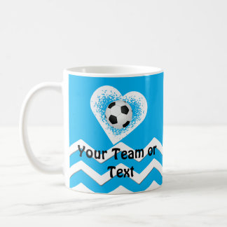 Personalized Soccer Gifts for Players Your Text Coffee Mug