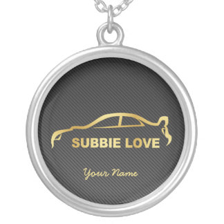 Personalized Subbie Love STI Necklace