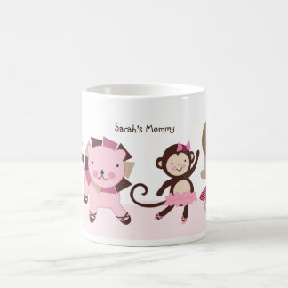 "Personalized ""Tutu Cute/Animal Ballerina"" Mug"