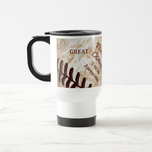 Personalized Vintage Baseball Coach Mugs Your TEXT