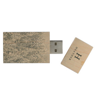 Personalized | Winter Wood USB 3.0 Flash Drive