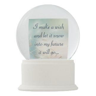 Personalized Wishing Globe Snow Globes