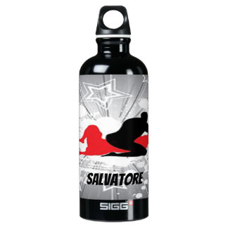 Personalized Wrestlers Exploding Water Bottle
