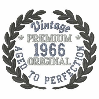 Personalized YEAR Vintage Laurels Embroidery Embroidered Shirts