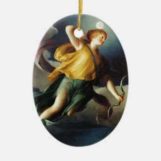 Personifications by Anton Raphael Mengs Christmas Ornament