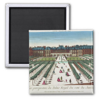 Perspective view of the Palais Royal Square Magnet