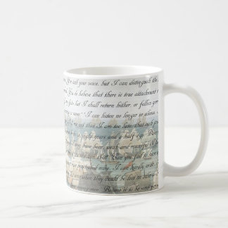 Persuasion Letter Coffee Mug
