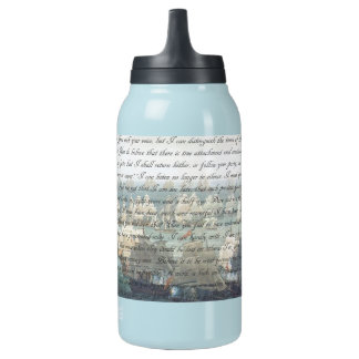 Persuasion Letter Insulated Water Bottle
