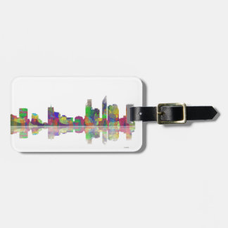 Perth  WA Skyline Luggage Tag