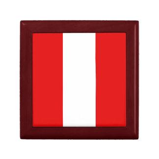 Peru Flag Gift Box