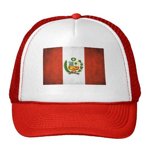 Peru National Flag Hats