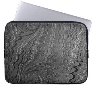 """Perugia bianco e nero"" Laptop Sleeve"