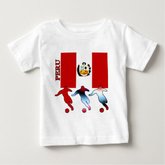 Peruvian Soccer Players Baby T-Shirt