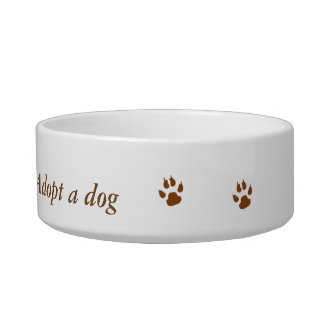 Pet bowel Adopt a dog Bowl