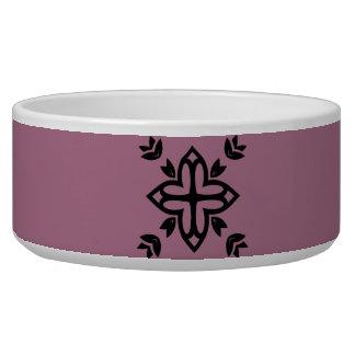 Pet bowl with luxury Mandala art