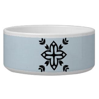 Pet bowl with Mandala art