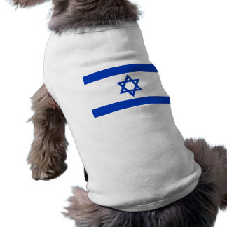 Pet Clothing with Flag of  Israel